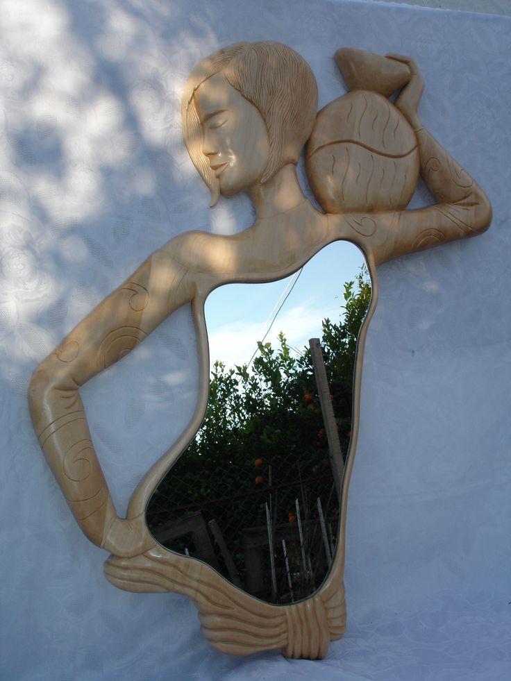 ahşap oyma ayna-5 (wood carving mirror)