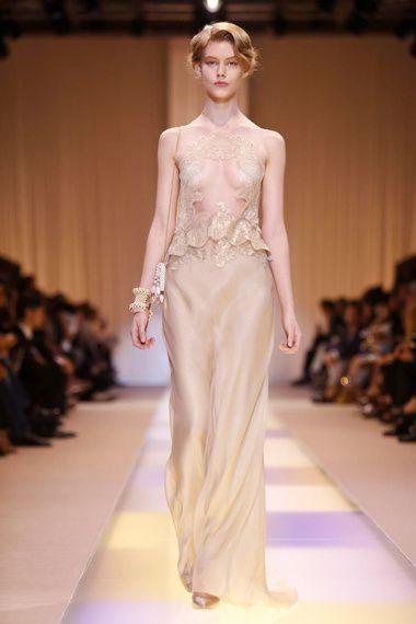 Sfilate - Passerella - GIORGIO ARMANI PRIVÉ - Haute couture - AI - 2014 - Parigi - Grazia.it