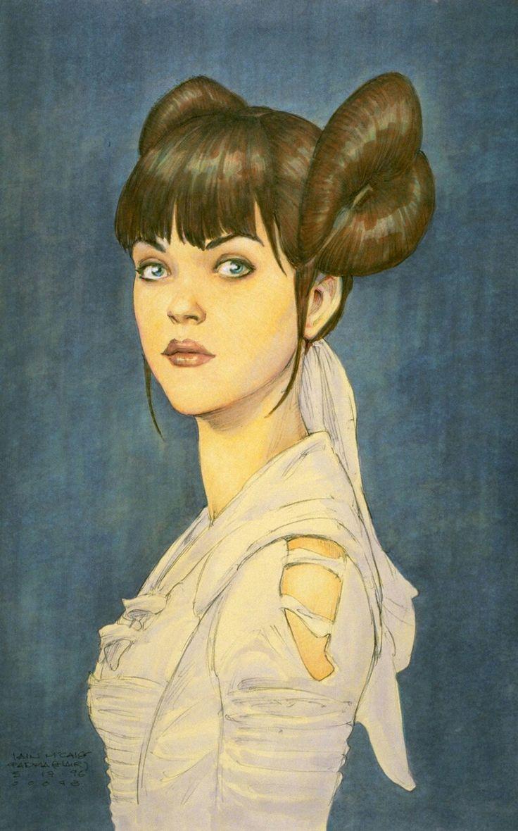 Padmé NABERRIE | STAR WARS | Episode I : The Phantom Menace (1999) | STAR WARS : Iain McCAIG (Concept Art)