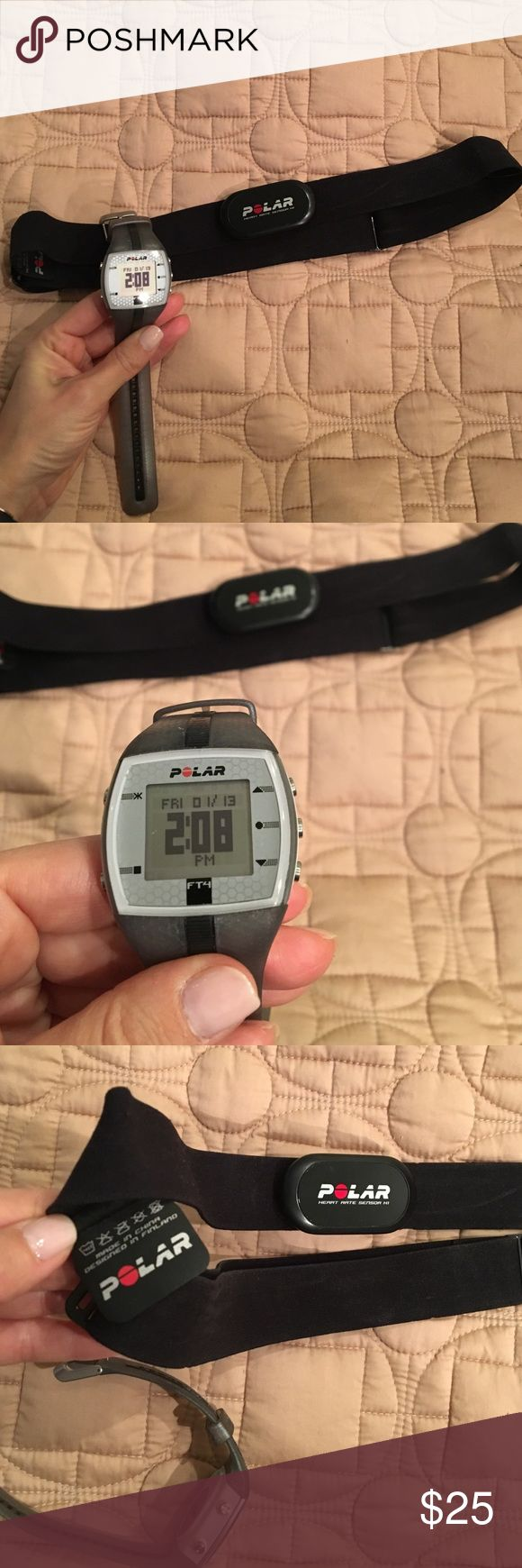 Polar Heart Rate monitor-watch and strap included! Polar Heart Rate monitor-watch and strap included! polar Other