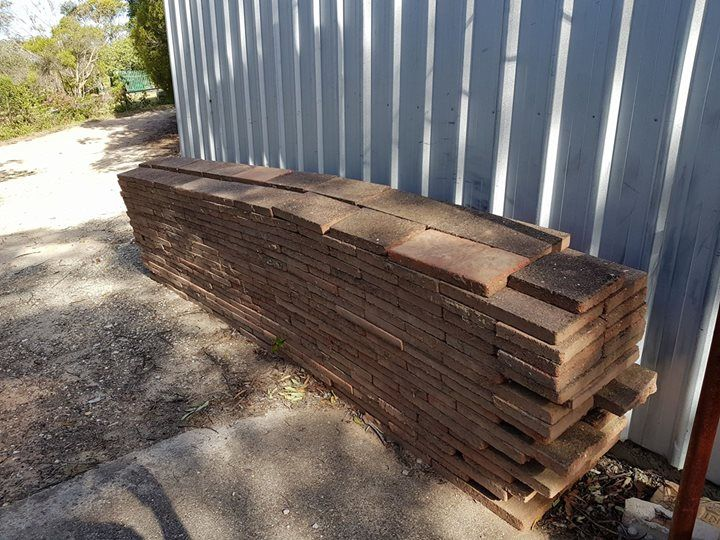 Free, approx 48 square mtrs of pavers and around 50- 60 bricks. Only catch is you will have to pick them up. #rangloo, #bar, #accessories