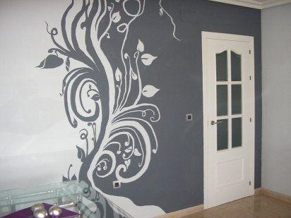Paredes en gris perla for Habitaciones pintadas en gris perla