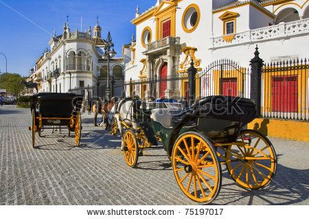 View Of Real Maestranza De Caballeria De Sevilla, In Seville, Spain Stock Photo 75197017 : Shutterstock