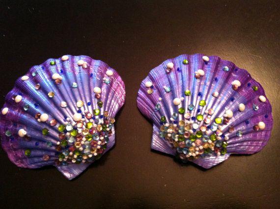 Mermaid Shells, Shell Bra Base