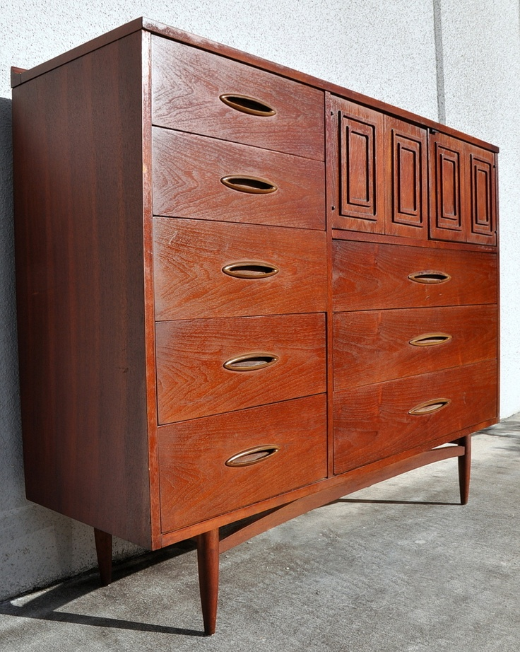 Broyhill Sculptra Highboy Vintage Products I Love Pinterest Mid Century Retro Furniture