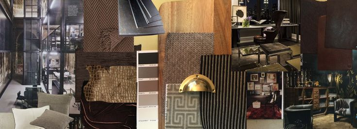 Industrial Nostalgia - creating a warm office design August & Co. Design
