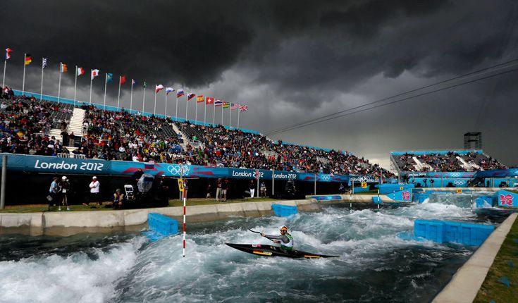 APTOPIX London Olympics Kayak Slalom Men