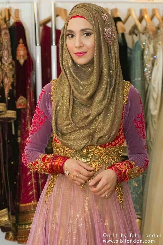 Amenakin's indian hijab style