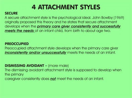 How attachment develops essay