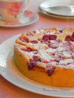 Le gâteau aux framboises qui a un succès fou fou fou...