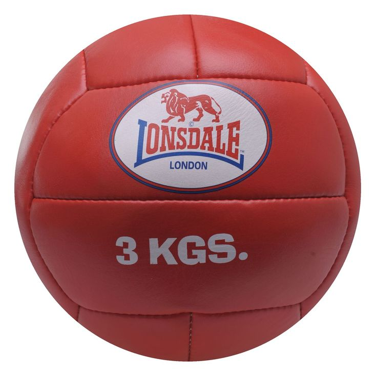 Lonsdale 3kg Medicine Ball >> Now £25 #boxing