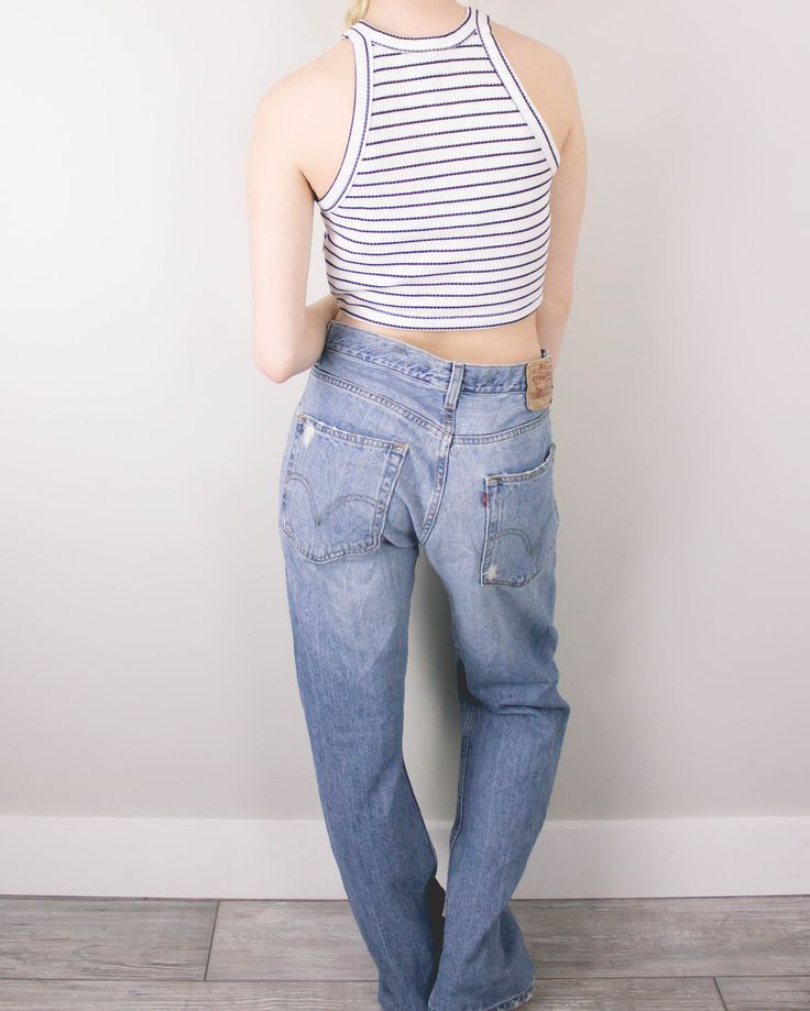 Vintage (XL) Levis 569 High Waisted Denim Jeans