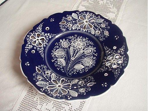 KeramikaHaban / Vyrezávaný tanier