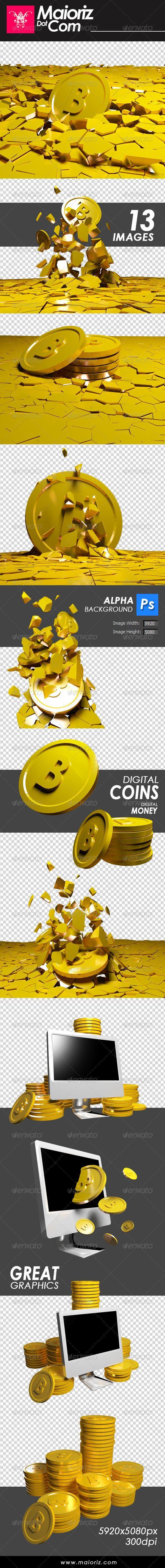 Bit Coins Render