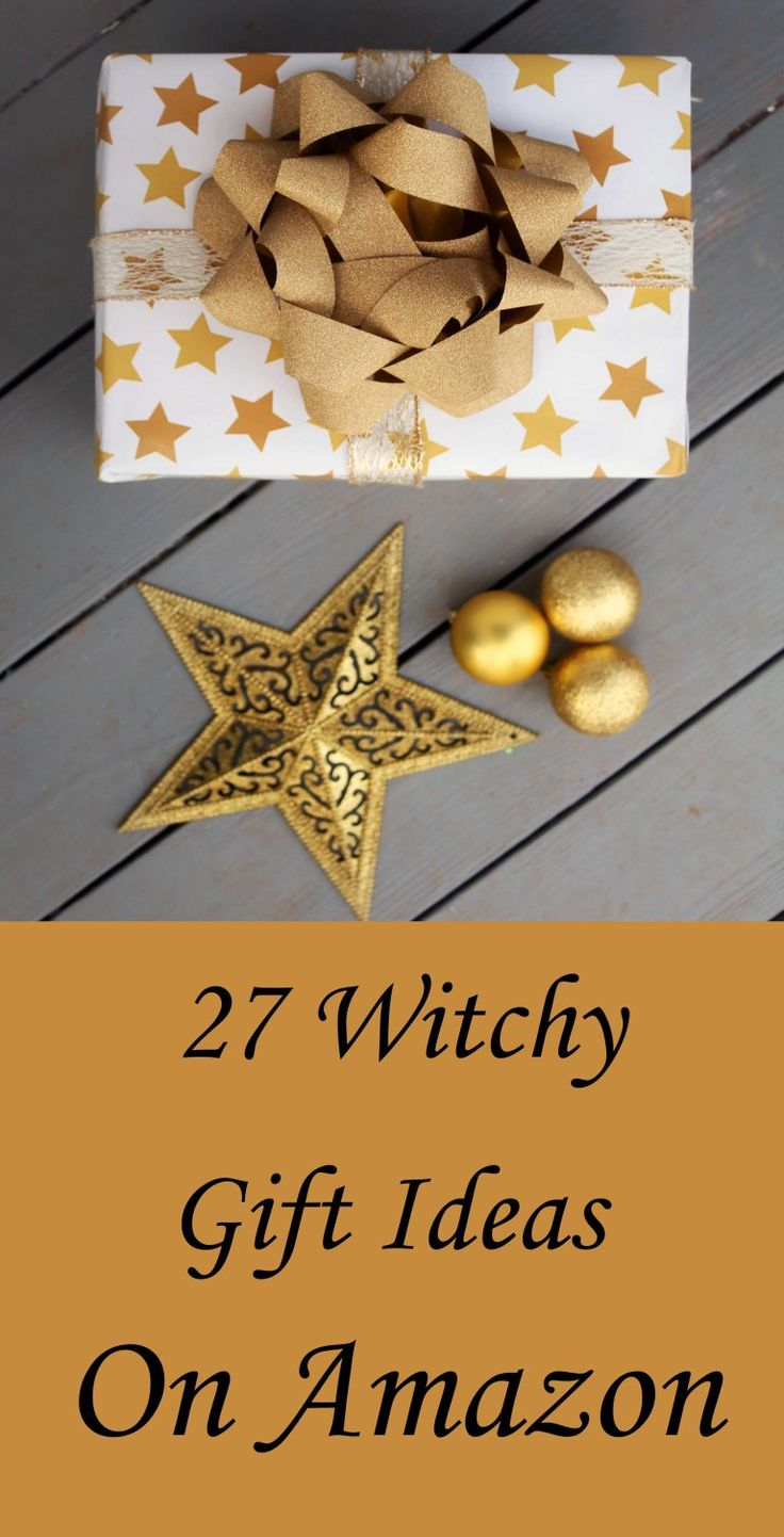 27 witchy gift ideas on amazon gifts diy holiday gifts