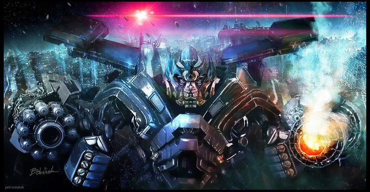 Ironhide - Transformers by Bohy on DeviantArt