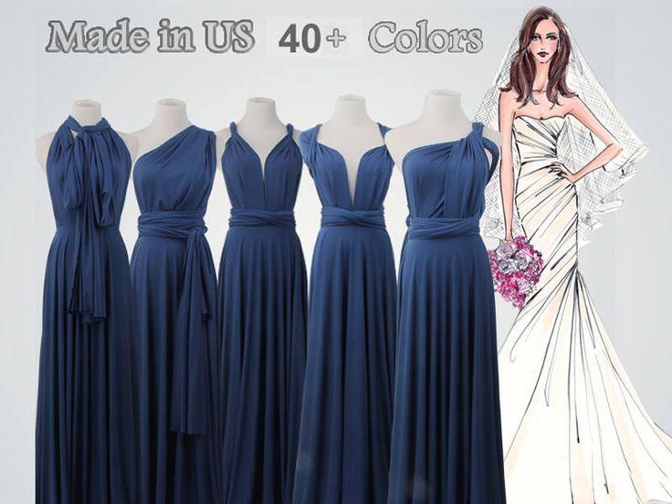 Best 25+ Infinity Dress Bridesmaid Ideas On Pinterest
