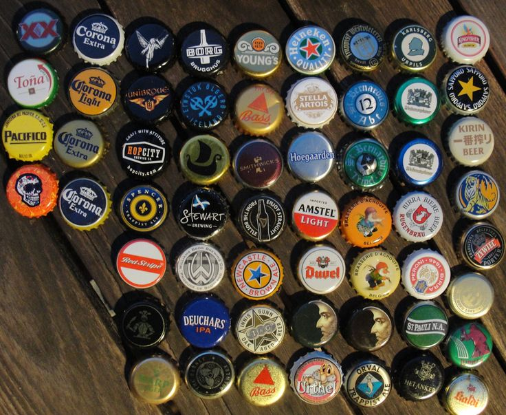 Bottle caps from international beers that can be used to for What can i make with beer bottle caps