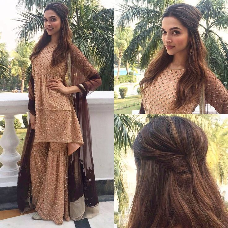 Deepika Padukone looks amazing in a Vineet Bahl outfit for the launch of Bajirao Mastani song #Aayat
