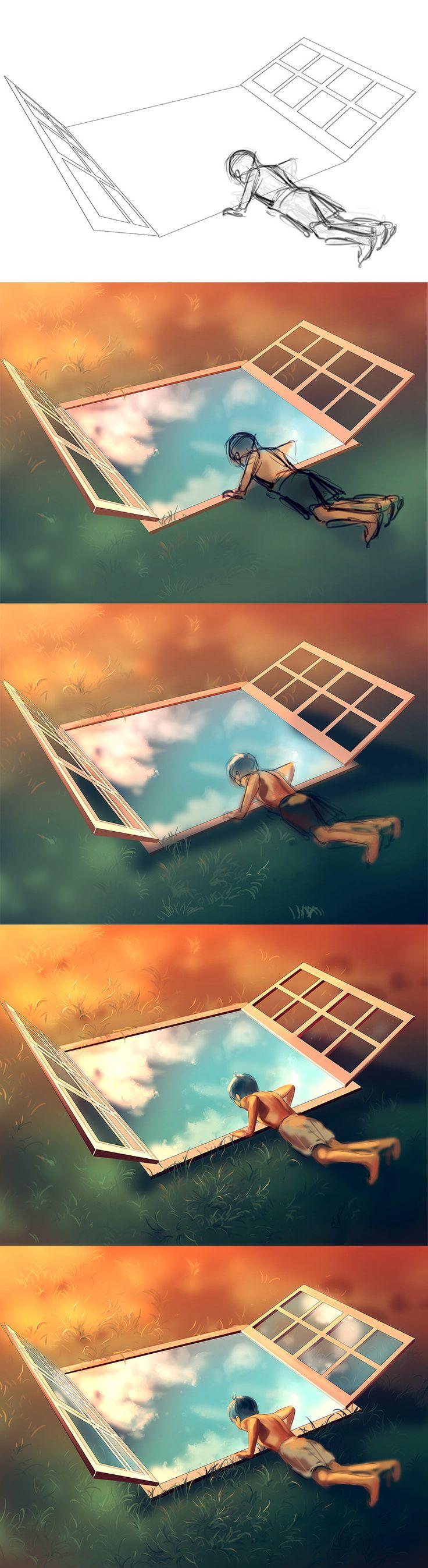 WIP of Sweet Vertigo by AquaSixio.deviantart.com on @deviantART