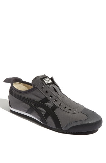 Onitsuka Tiger Mexico 66 Slip-on in Charcoal... have 'em and love 'em. $69.95