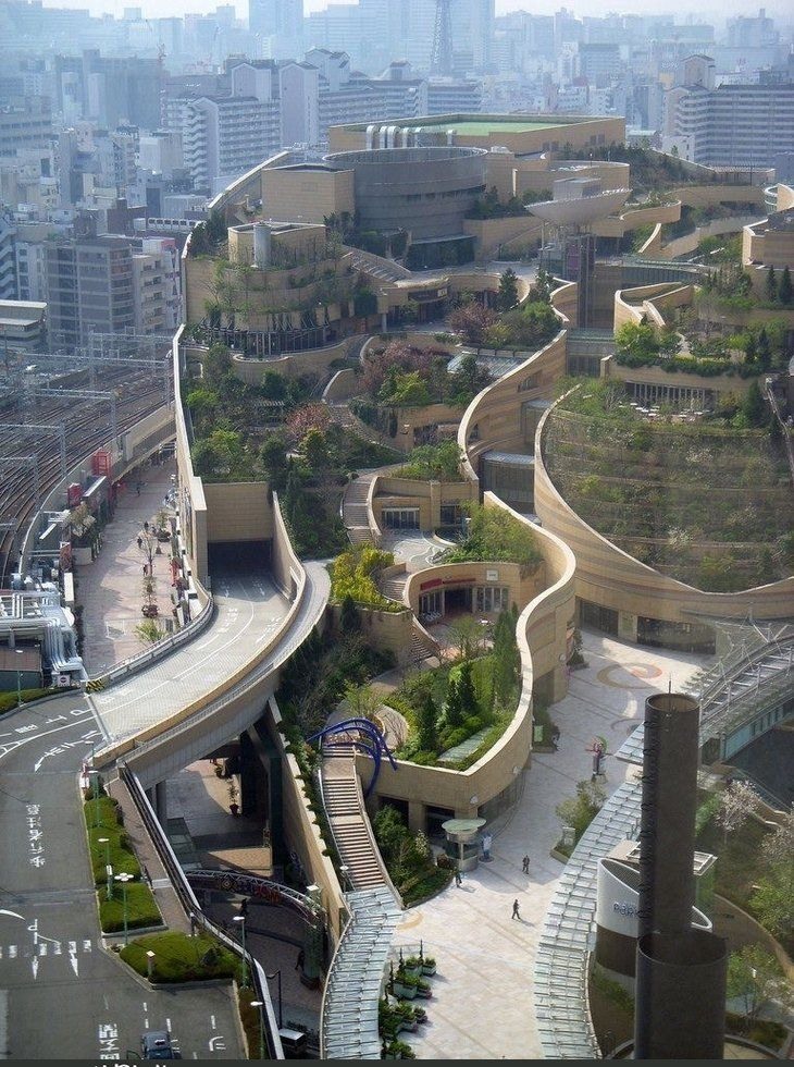 Green Mall in Osaka, Japan - Imgur    YES. THIS. MORE.