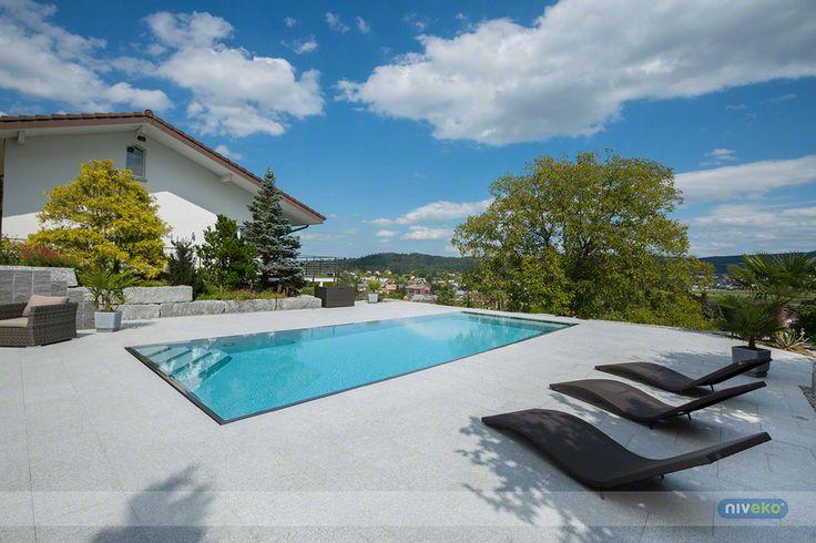 NIVEKO Evolution » niveko-pools.com #lifestyle #design #health #summer #relaxation #architecture #pooldesign #gardendesign #pool #swimmingpool #pools #swimmingpools #niveko #nivekopools