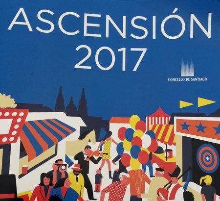 Programa de las Fiestas de la Ascensión 2017 de Santiago de Compostela. Ocio en Galicia | Ocio en Santiago. Agenda actividades. Cine, conciertos, espectaculos