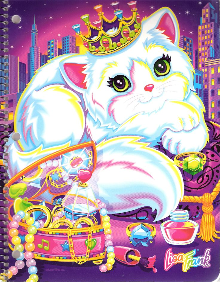 Fancy feast kitty #Lisa #Frank