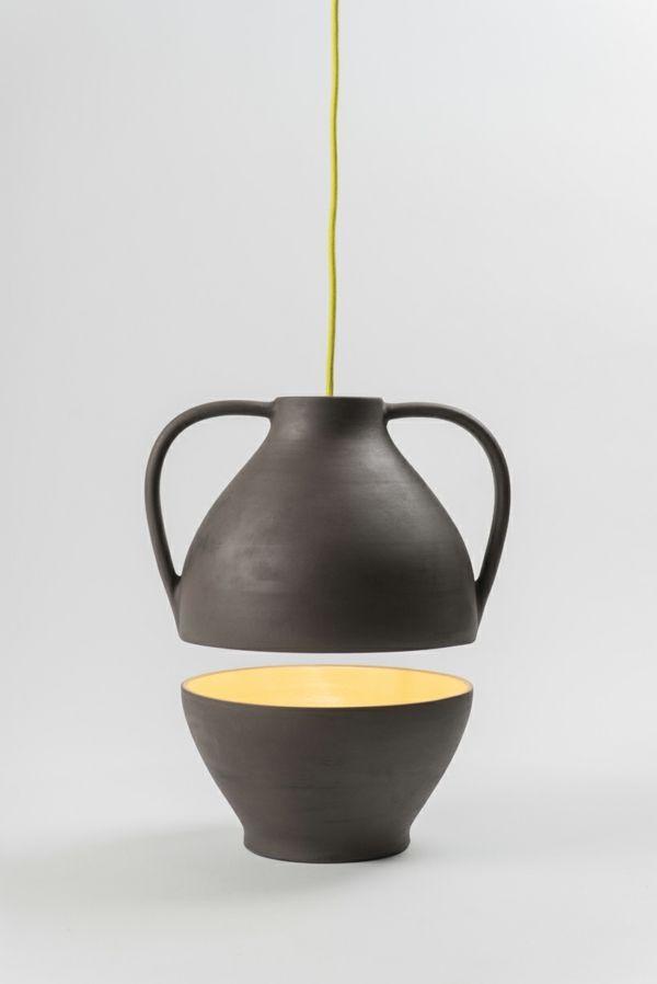 Popular designer leuchten Jar Mejd studio pendelleucten h henverstellbar gelb
