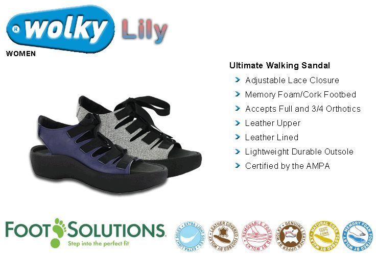 Wolky Lily - Women // Spring 2015