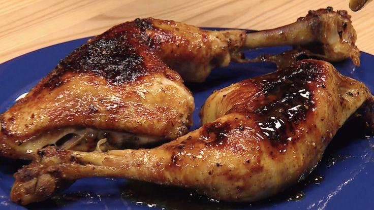 Neue Nachricht: Honig-Soja-Ketchup - Hähnchenkeule schmeckt am besten mariniert - http://ift.tt/2mZLitx #nachricht