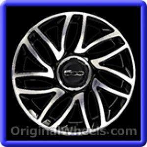 Fiat 500 2014 Wheels & Rims Hollander #61670A  #Fiat #500 #Fiat500 #2014 #Wheels #Rims #Stock #Factory #Original #OEM #OE #Steel #Alloy #Used