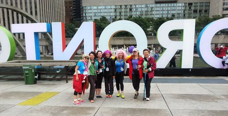 Team Jardino Supports The 2015 Princess Margaret Cancer Centre's One Walk To Conquer Cancer event  at the Rogers Centre
