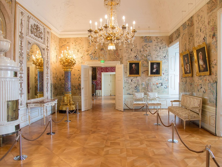 "A view into new exhibition ""Appartment of the princess"", Esterházy Palace, Eisenstadt, Austria"