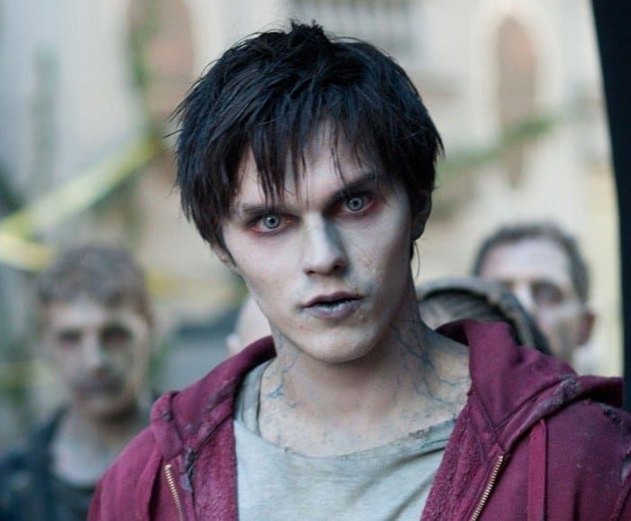 """Based on: Romeo and JulietFocusing on the star-crossed lovers theme, Warm Bodies follows a young, male zombie (Nicholas Hoult) who falls in love with one of humanity's surviving females (Teresa Palmer). To make the connection to Romeo and Juliet clearer, the lead zombie is named """"R"""" (Romeo), his best friend is named """"M"""" (Mercutio), and R's love interest is named """"Julie"""" (Juliet)."""