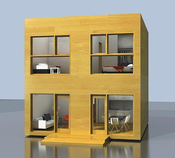 fachada de casa pequea y econmica por ello no significa de mala calidad nada ms