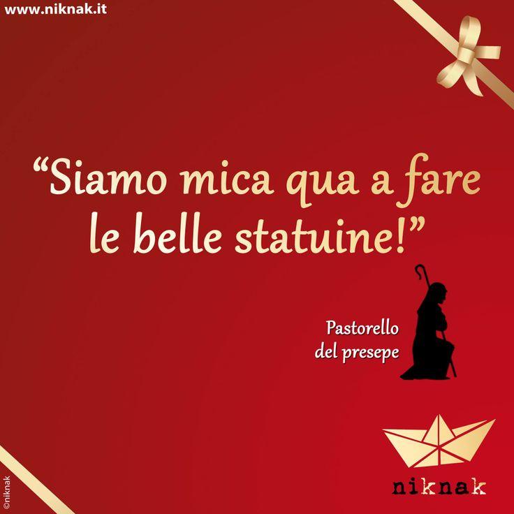 Citazioni di Natale: pastorello del presepe.  Christmas quotes | Christmas graphic | Funny quotes