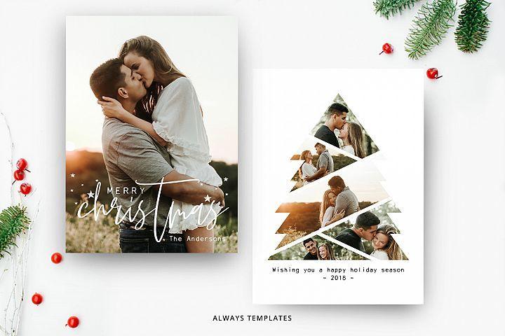 Christmas Tree Card Template Cc003 Photo Christmas Card Template Christmas Card Template Christmas Card Photoshop Christmas Tree Cards Holiday Card Template