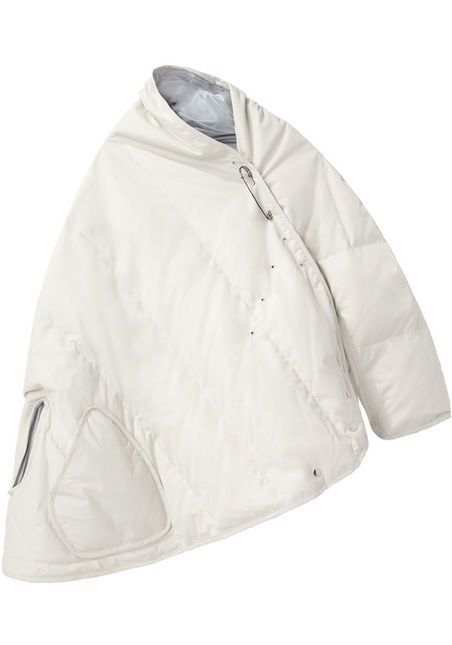 Y's Puffer Cape