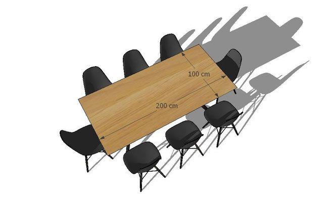 dimensions de table pour vos convives