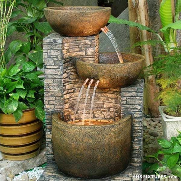 1000 ideas about fuentes de agua on pinterest water - Fuentes de exterior ...