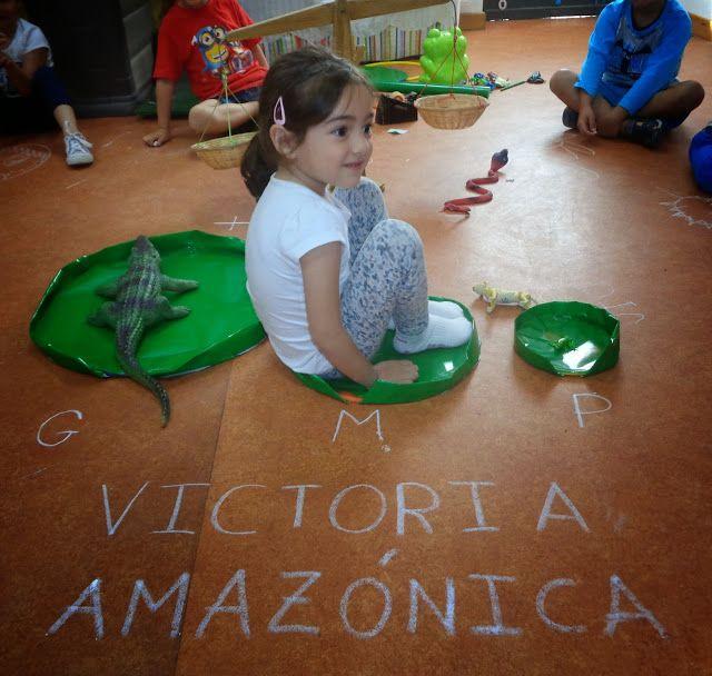 INFANTIL de GRACIA: NUESTRA VICTORIA AMAZÓNICA, UNA PLANTA ESPECTACULA...