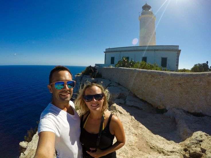 Just love the wind in my hair - haha! It was so windy at the lighthouse on Formentera but it was worth it - this entire island is just spectacular! Have you been?