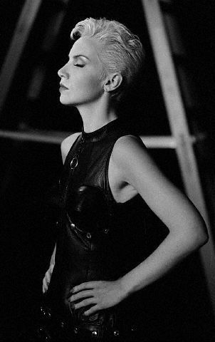 Annie Lennox from the Eurythmics days.