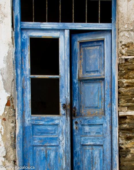 Iulida town, Kea island, Greece, Dec 2012  © Gelly Papalouca
