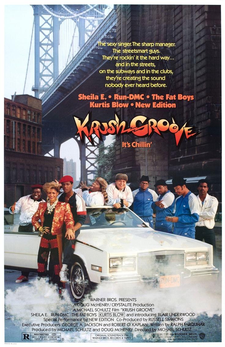 Krush Groove (1985) starring Sheila E., Run-DMC, The Fat Boys, Kurtis Blow & New Edition