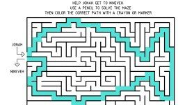 DH Guest Post: Caution Tape Maze  Revisited, Part II