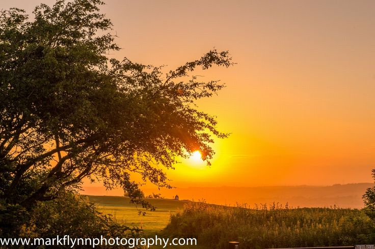 Summer solstace at Castle Hill Huddersfield (as featured in Huddersfield Examiner)