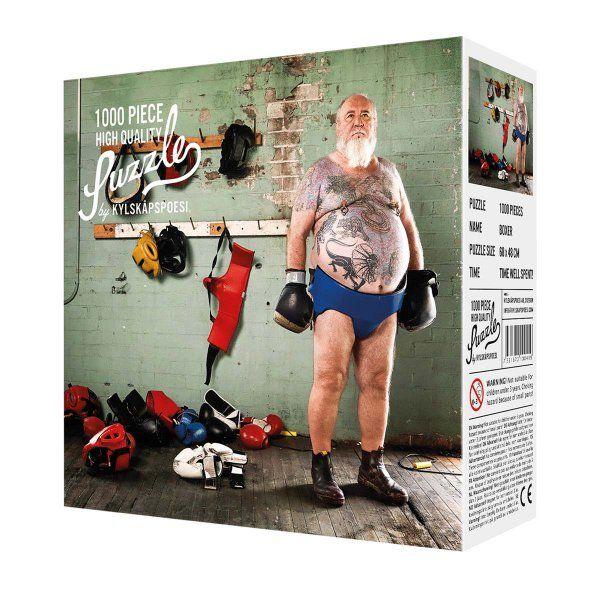 Kylskapspoesi AB Puzzle Der Boxer